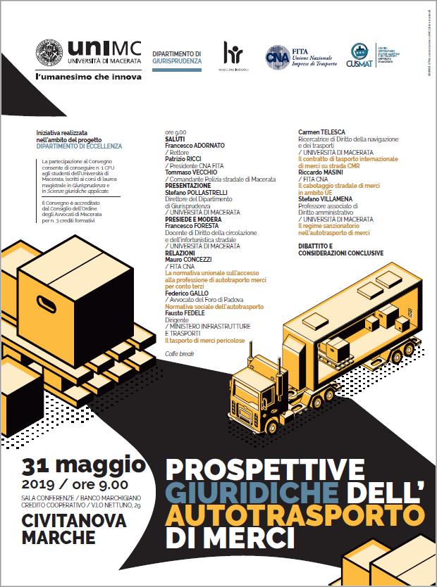Convegno: Prospettive giuridiche dell'autotrasporto di merci