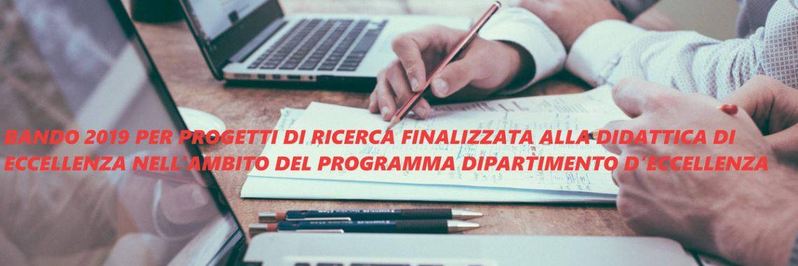 BANDO 2019 PER PROGETTI DI RICERCA